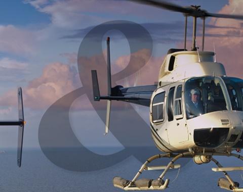 Aluguel helicóptero e jato executivo