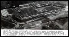 Inaugurada em 1952, a fábrica da Willys em São Bernardo do Campo, passou ao controle da Ford em 1967. Foto: Reprodução/ Acervo Foto: Acervo/Reprodução
