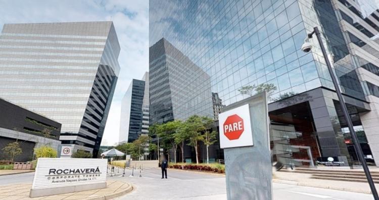 Locação laje corporativa Rochaverá Corporate Towers São Paulo